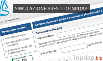 Simulazione Prestito INPDAP: Calcolo Rata e Preventivo